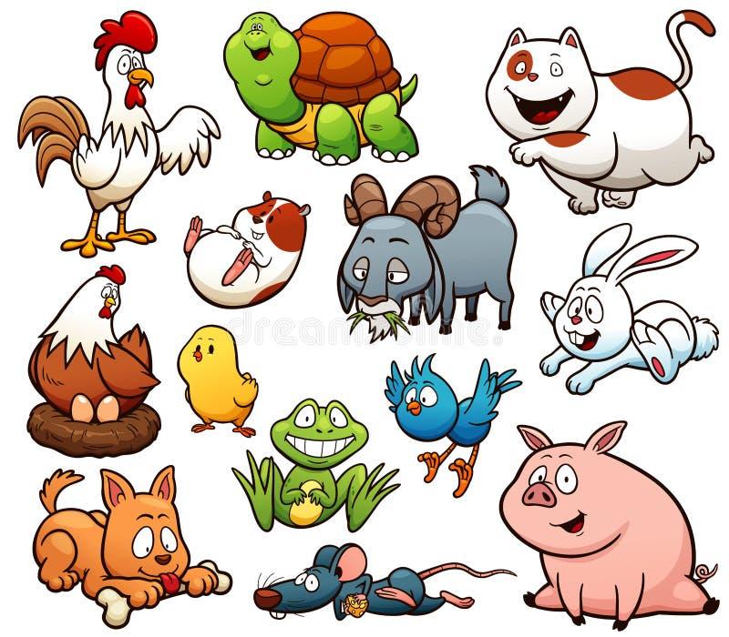 Farm Animals royalty free illustration