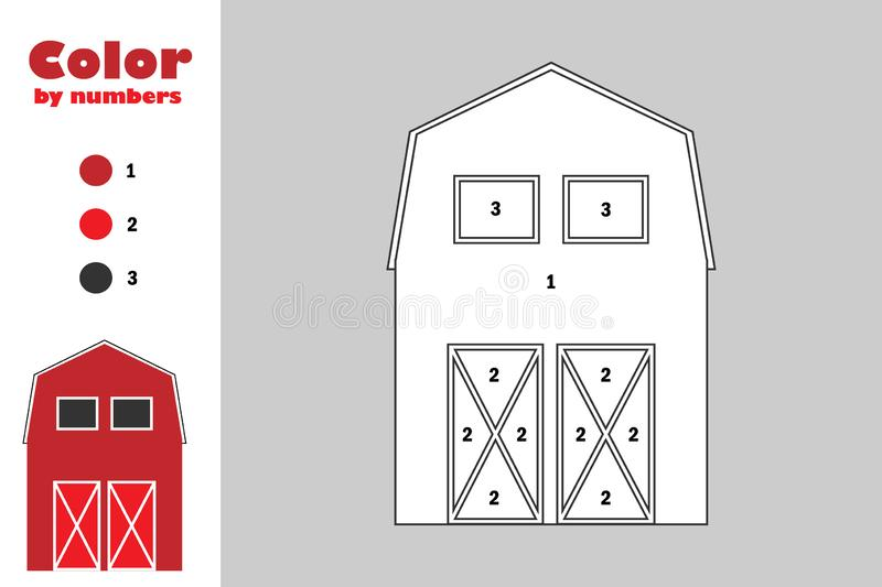 Coloring book Barn Silo Child, barn transparent background PNG ... | 533x800