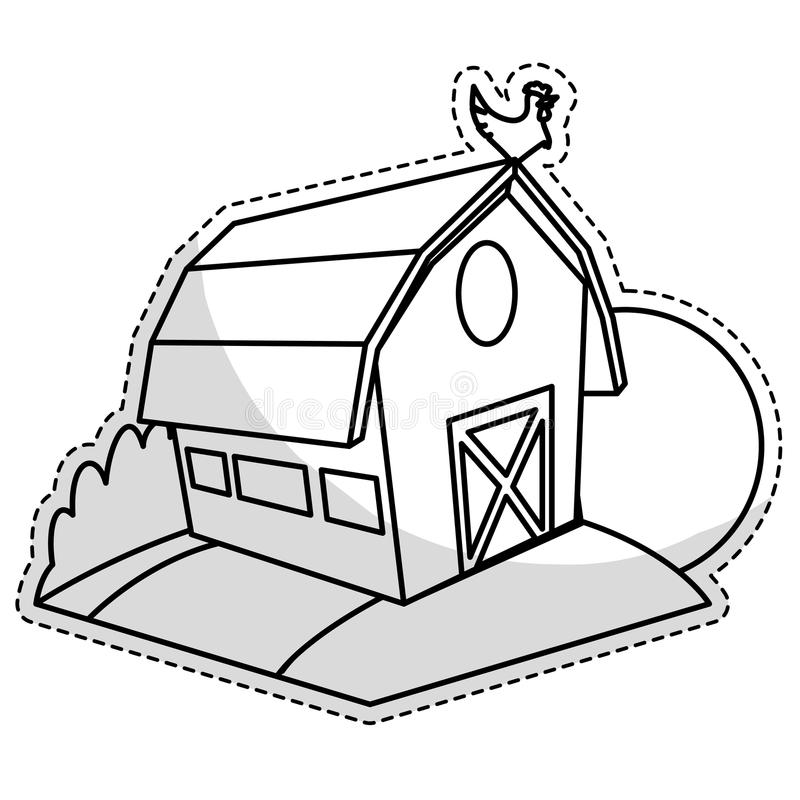 Download Farm Barn Icon Stock Vector Illustration Of Countryside