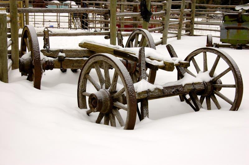 Download Farm Cart stock photo. Image of frozen, ranch, antique - 427378