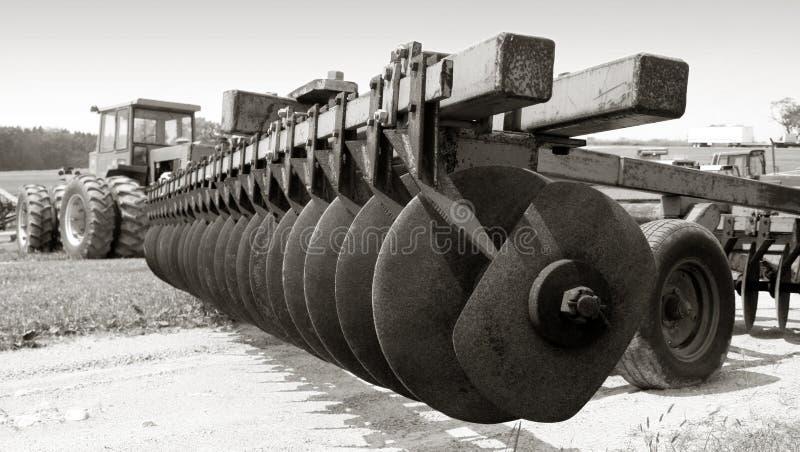 Farm equipment stock image