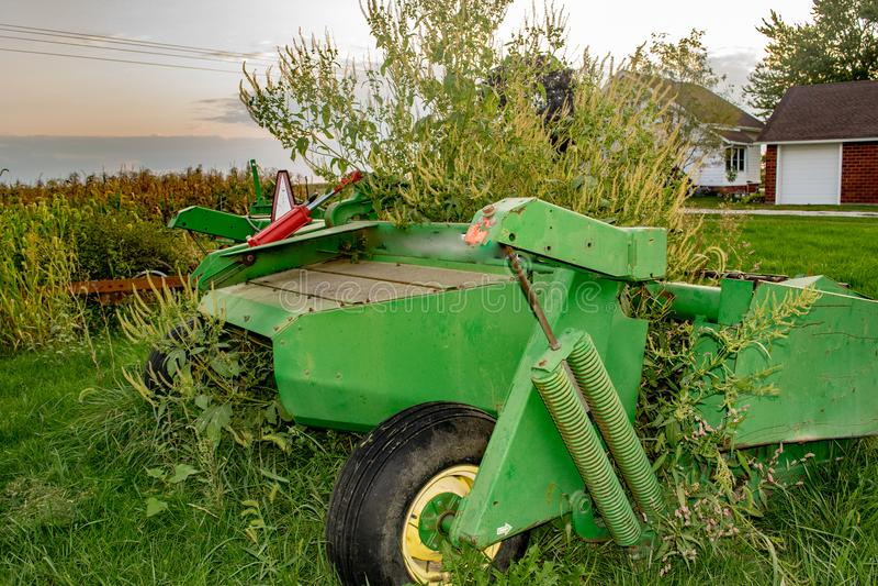 Iowa Farm Equipment stock images