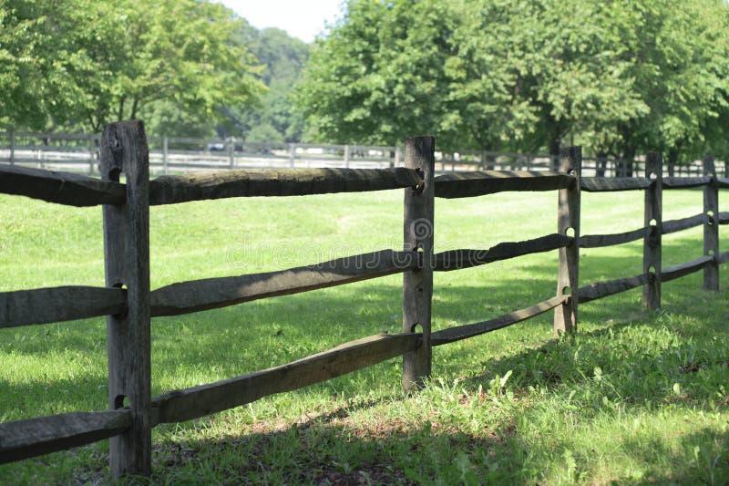 Farm Fence Royalty Free Stock Photography