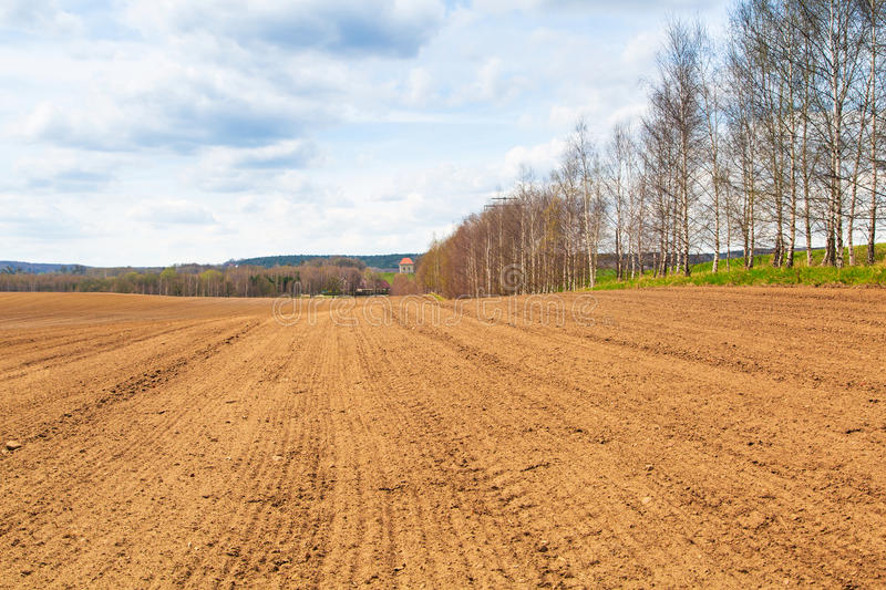 Download Farm Field In The Spring Time Stock Image - Image: 30883809