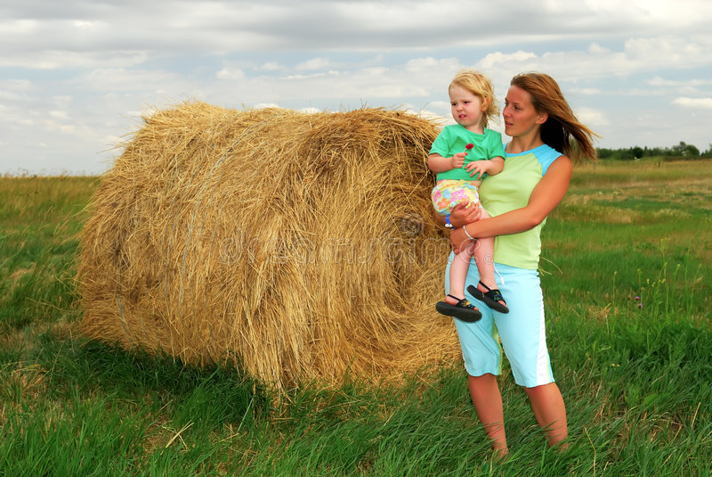 Farm Kids Royalty Free Stock Photos