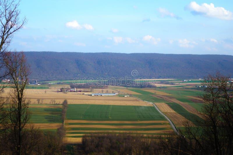 Farm Land royalty free stock photos