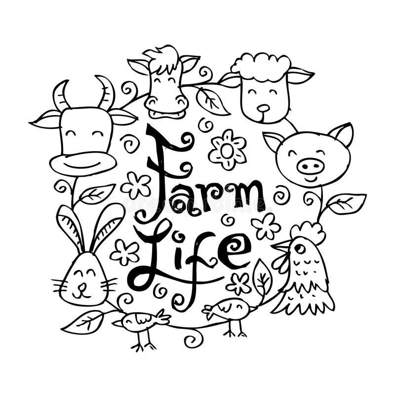 Free Farm Life Animals. Royalty Free Stock Images - 93671189