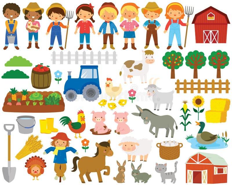 Farm Clipart Stock Illustrations 26 560 Farm Clipart Stock Illustrations Vectors Clipart Dreamstime