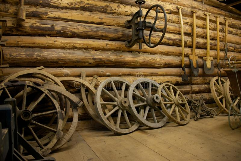 Download Farm Tools In A Barn Royalty Free Stock Photos - Image: 27863438