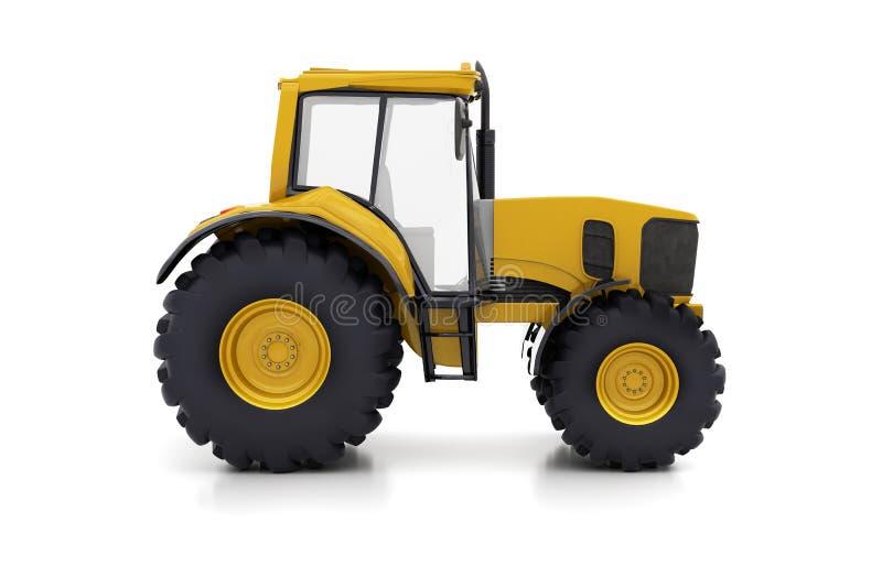 Farm tractor stock illustration
