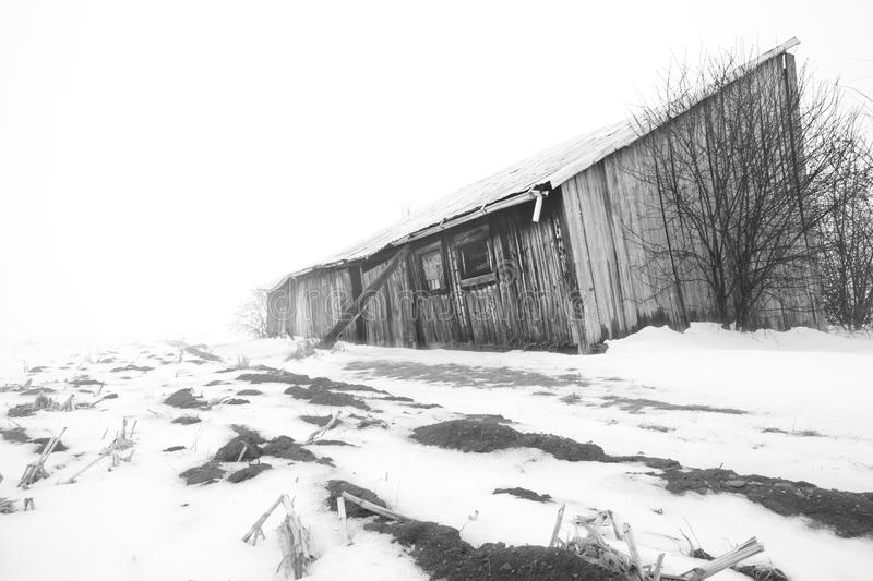 Download Farm in Winter stock image. Image of country, horizontal - 20872247