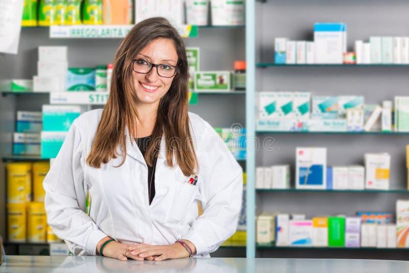 Farmacêutico bonito fotos de stock
