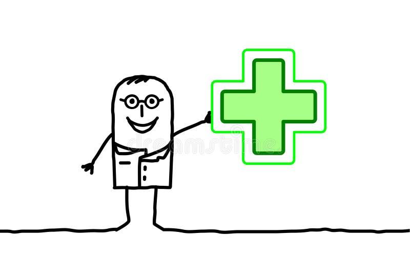farmaceuta ilustracji