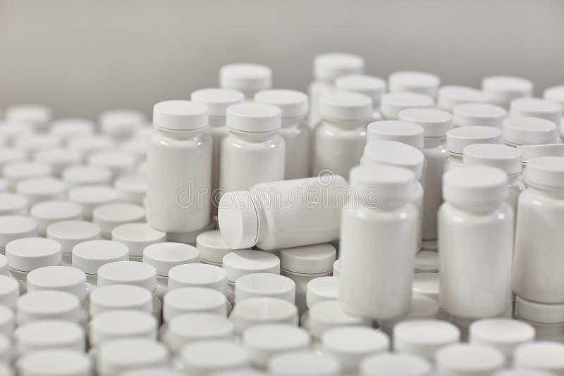 Farmaceutische nutraceutical het samenstellen verpakkende capsules royalty-vrije stock fotografie