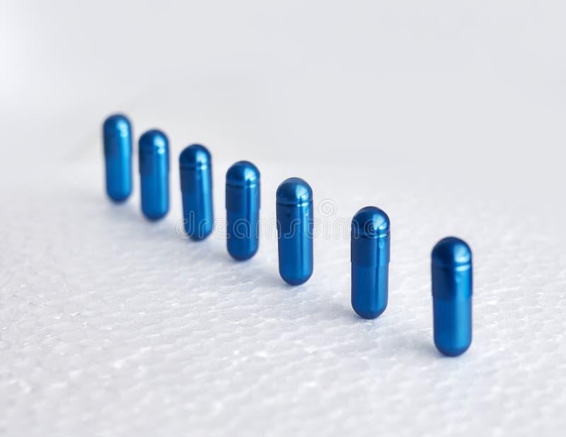 Farmaceutiskt nutraceutical blanda förpacka royaltyfri fotografi