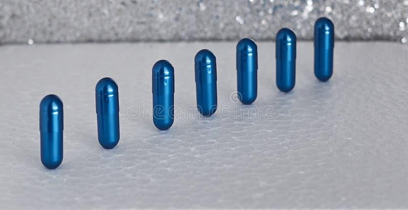 Farmaceutiskt nutraceutical blanda förpacka arkivbilder