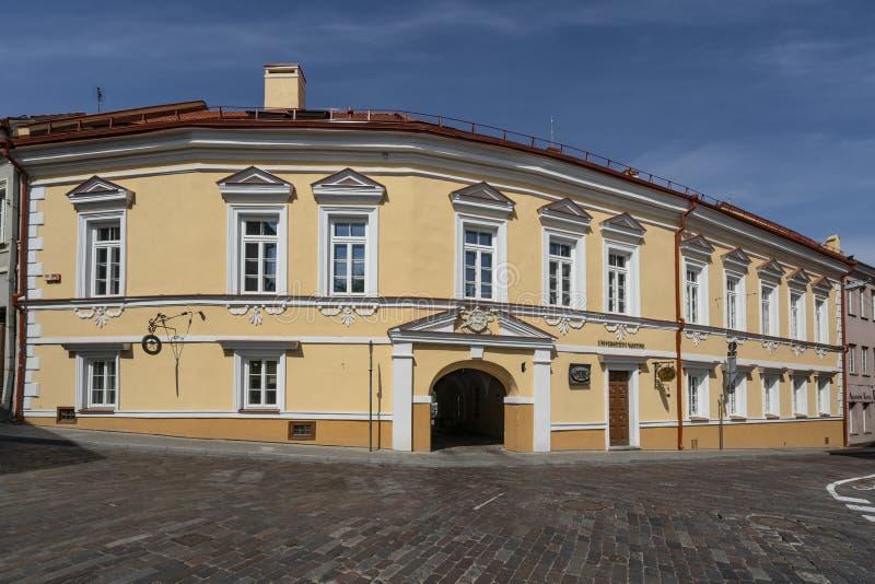 Farmacia dell'università a Vilnius immagini stock libere da diritti