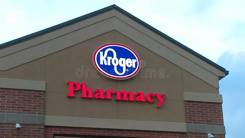 Farmacia di Kroger fotografia stock