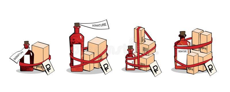 farmacia Equipos promocionales Producto promocional Medicinas y cosm?ticos En el fondo blanco libre illustration