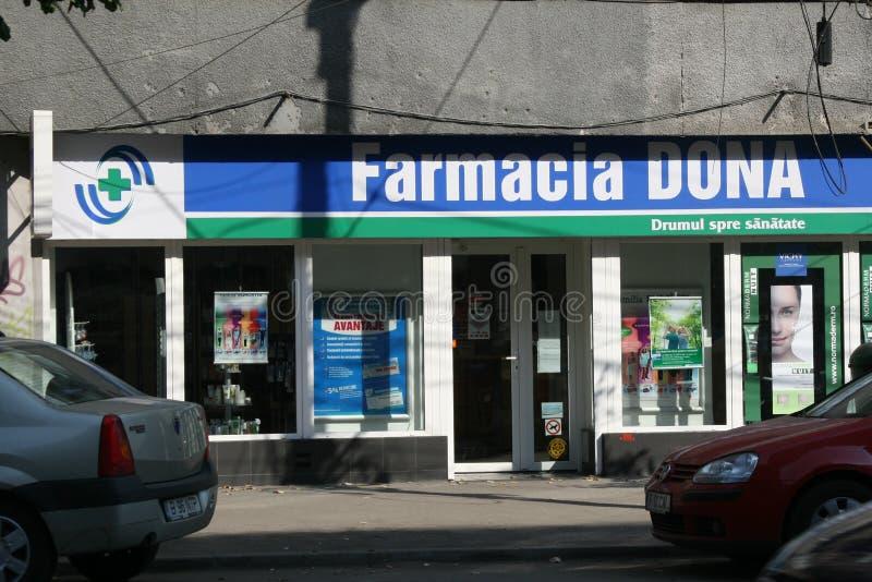 Farmacia - parte anteriore immagine stock libera da diritti