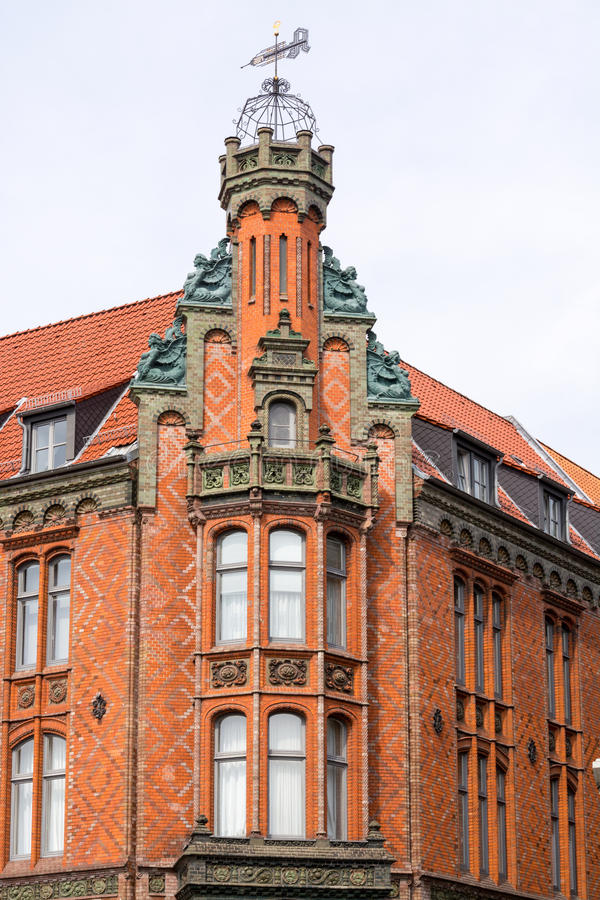 Farmacia vieja, ciudad vieja, Hannover, Europa imágenes de archivo libres de regalías
