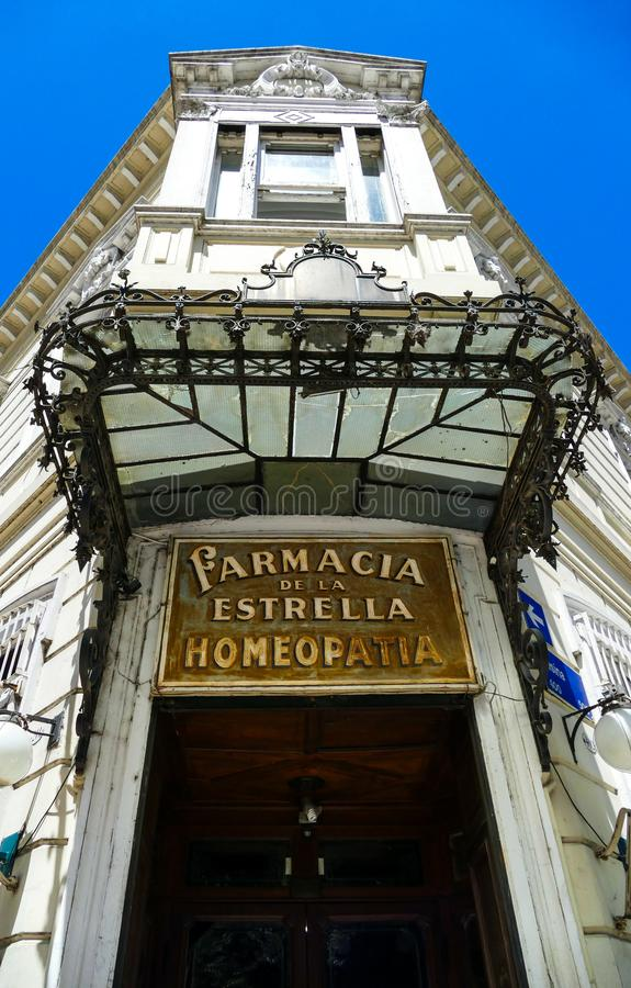 Farmaciade La Estrella royalty-vrije stock foto