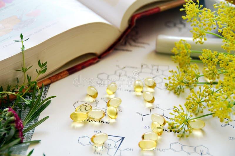 Farmacista naturale fotografie stock