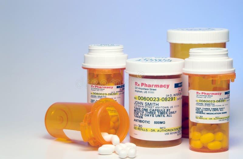 Farmaco di prescrizione immagine stock