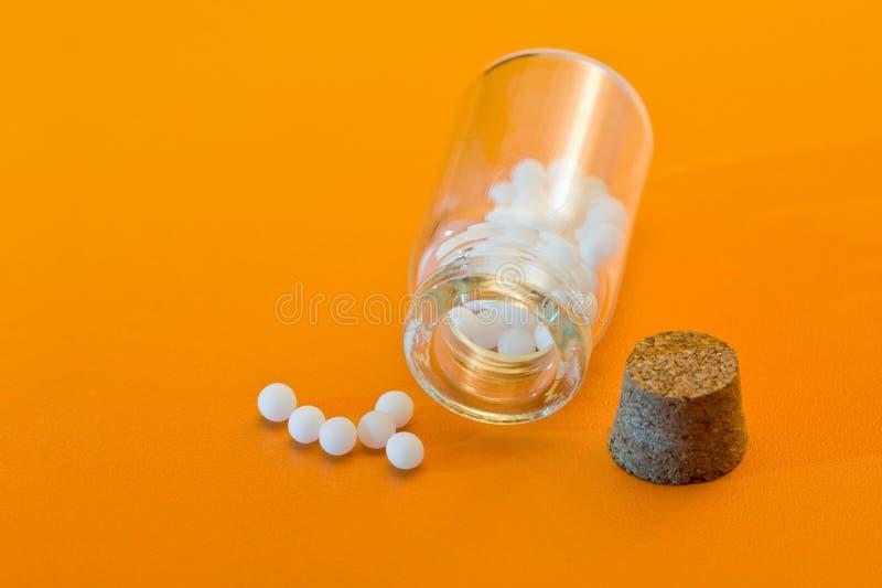 Farmaco omeopatico immagine stock