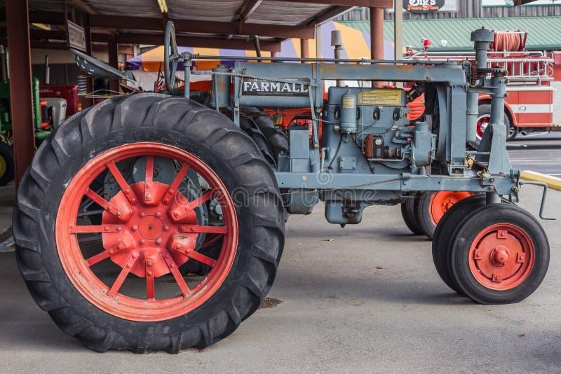 Farmall F-20 Farm Tractor. Rugged International Harvester built Farmall Model F-20 farm tractor stock photos