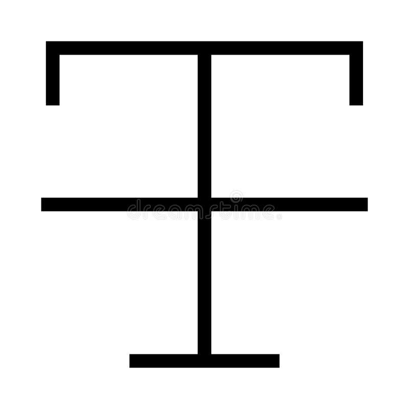 Farmat-Vektorlinie Ikone vektor abbildung