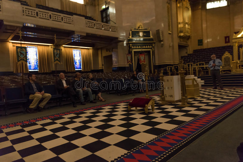 Farmazony Hall Londyn zdjęcia royalty free