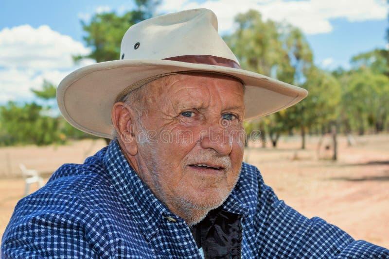 Farmer, άτομο στην επαρχία στοκ εικόνες