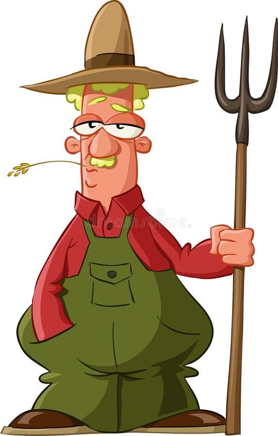 Farmer royalty free illustration