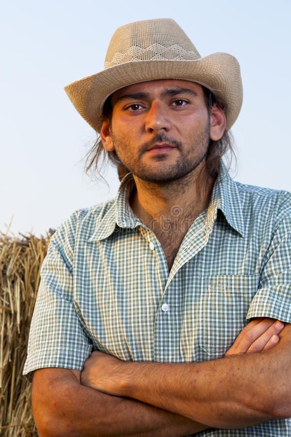 Download Farmer With Arms Folded Stock Photography - Image: 20919382