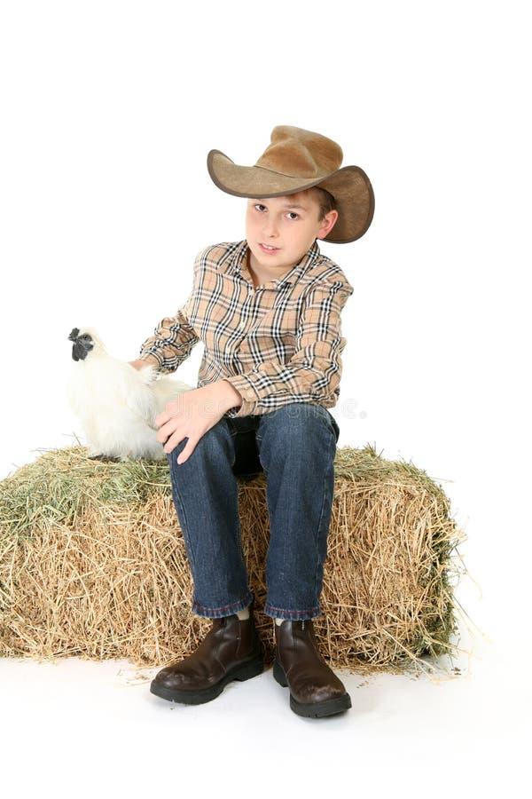 Farmer Boy royalty free stock photos