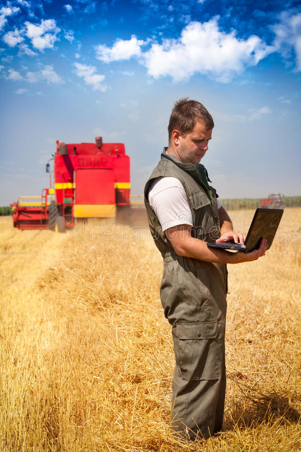Download Farmer In A Field Stock Photography - Image: 25519952