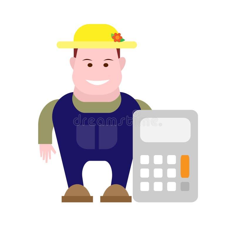 Download Farmer stock vector. Illustration of illustration, cartoon - 33701427