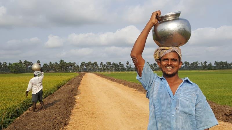 farmer szczęśliwy zdjęcia royalty free