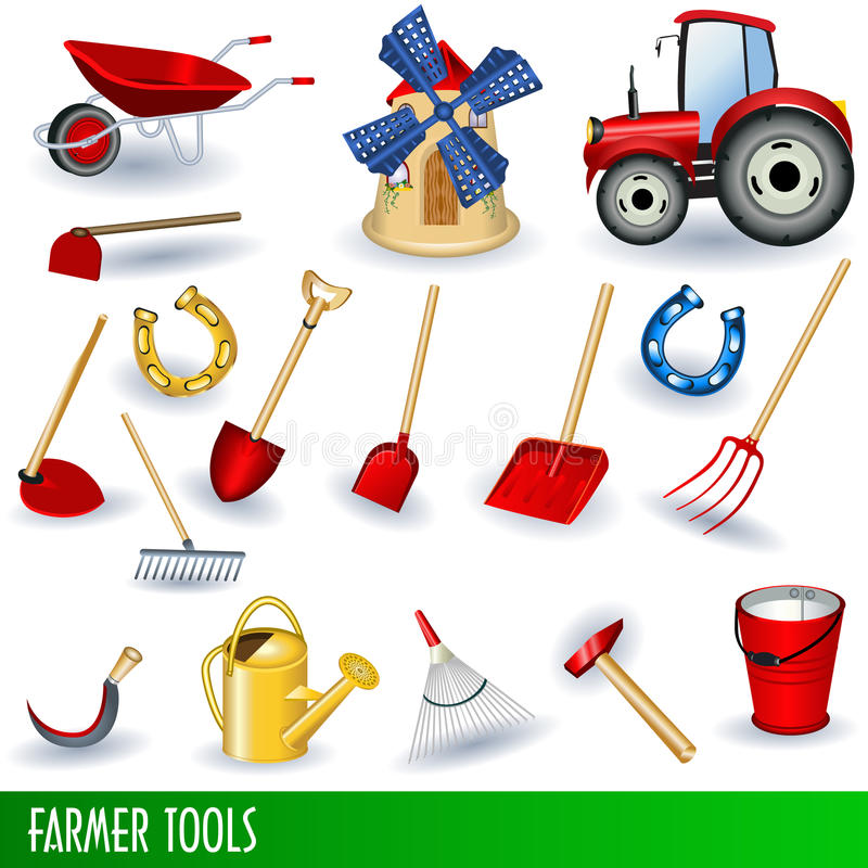 Free Farmer Tools Royalty Free Stock Images - 16536659
