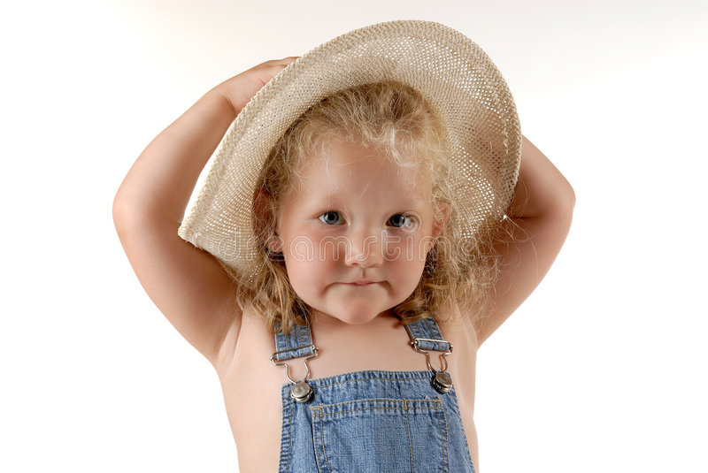 Farmers daughter II stock images