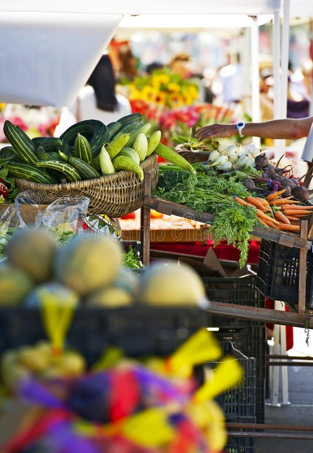 Farmers Market Booth royalty free stock photos