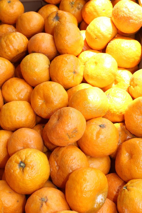 Farmers Market at Old Downtown Scottsdale, Arizona, United States. Tangerines at the Farmers Market at Old Downtown Scottsdale, Arizona, United States royalty free stock photos