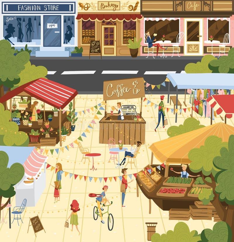 Farmfield Landscape: Farming Agriculture Vector Illustration, Cartoon Flat Set