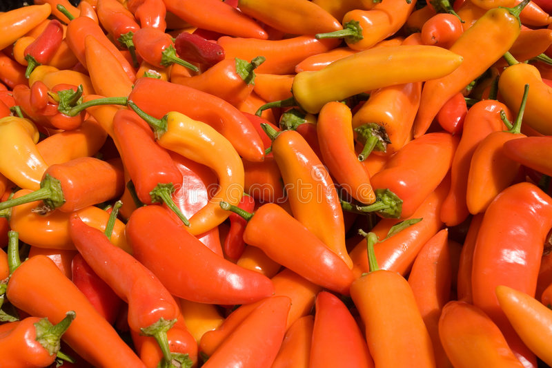 Download Farmers Market - Peppers Royalty Free Stock Images - Image: 1419909