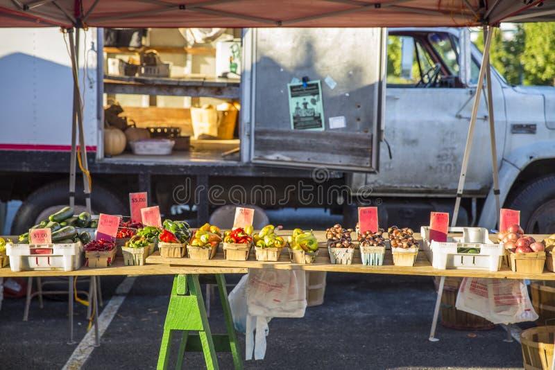 Farmers Market Table 7 stock photos