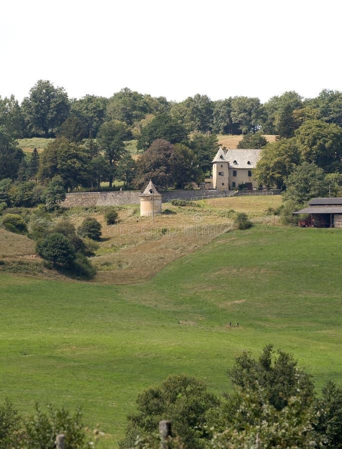 farmhouse γαλλικά στοκ εικόνα