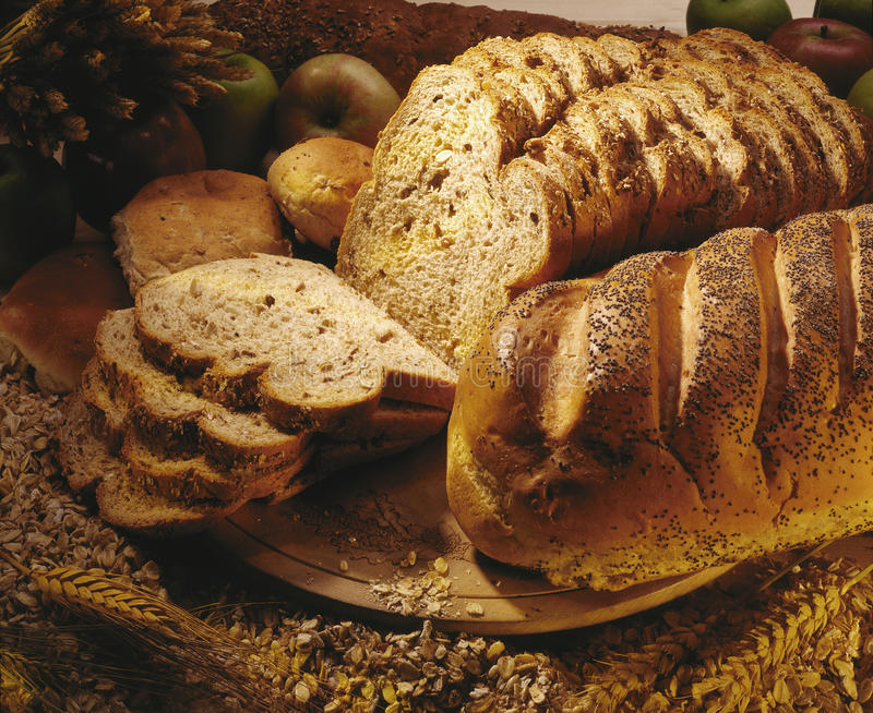Farmhouse Bread stock photography