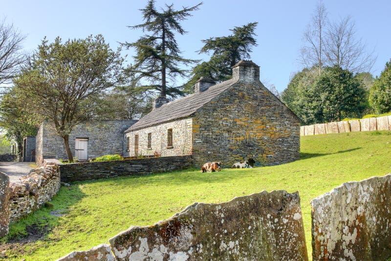 Download Farmhouse In Bunratty Folk Park - Ireland. Stock Photo - Image: 24428728