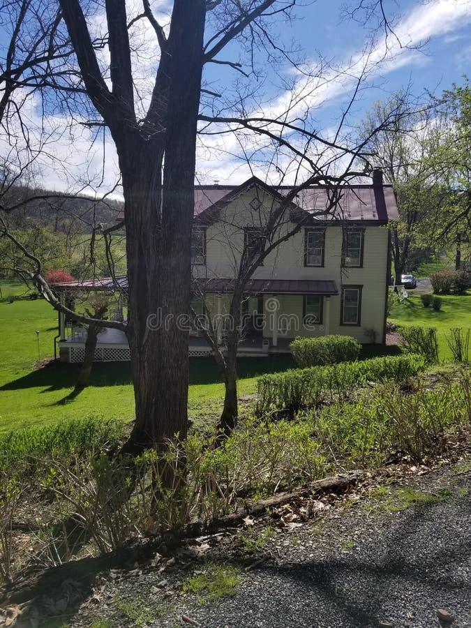 Farmhouse em Twiggtown, Maryland imagens de stock